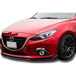 2017, 2018, Mazda, 3, Sedan, Hatchback, MZ, Style, Front, Bumper, Lip