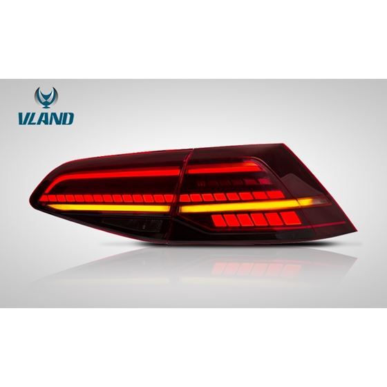 Vland,LED,Taillight,For,Volkswagen,Golf,7,GOLF,7.5,2013-2019