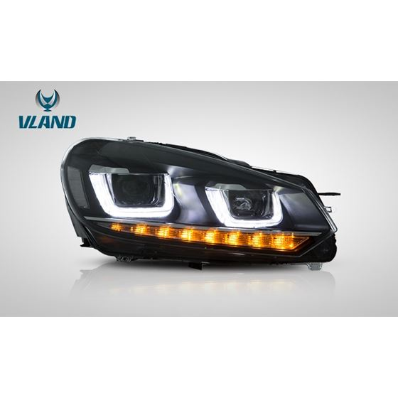 VLand,LED,Headlights,for,Volkswagen,VW,Golf,6,MK6,DOES,NOT,FIT,GOLF,R