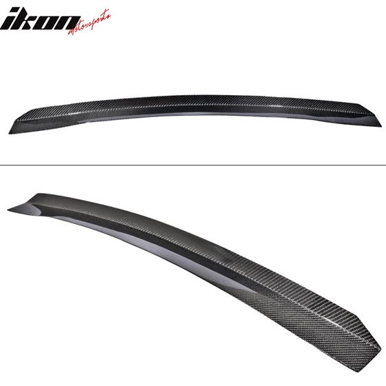 08-14,WRX,STi,Top,Gurney,Flap,Add,On,Carbon,Fibe,CF,Trunk,Spoiler,Wing