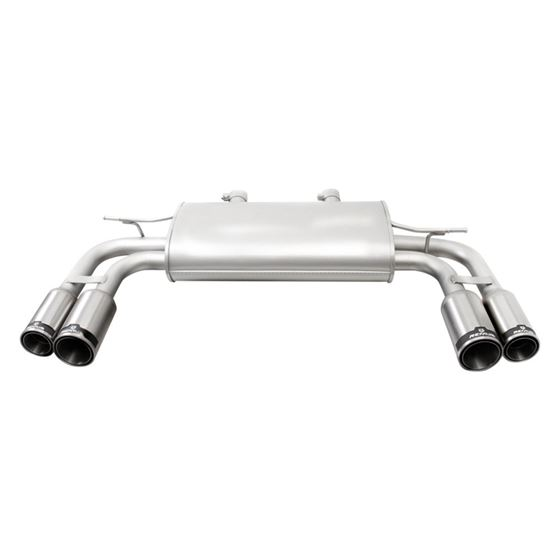 Genesis Coupe Sport Axle Back Exhaust System