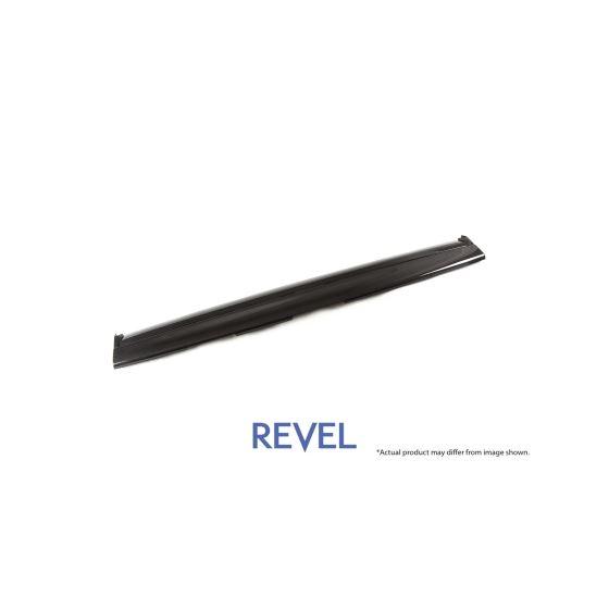 Revel,GT,Dry,Carbon,Front,Panel,Center,Tesla,Model,3,1,Piece