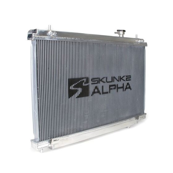 349-07-1003, sk349-07-1003, Skunk2, Alpha, Series, Radiator, aluminum, cooling, cool, fan, engine, p