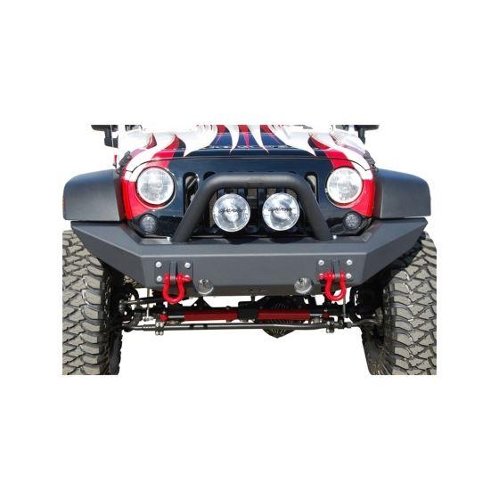 MBRP 07-18 Jeep Wrangler JK Front Full Width Non Winch Bumper Package