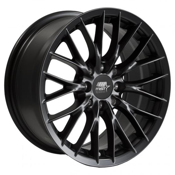 MST Wheels 15x7 +35 73.1 - Matte Black