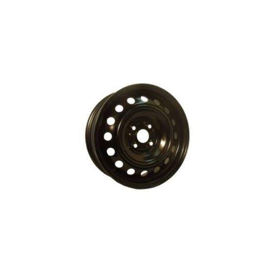 Black Steel Rims 17x6.5 5x100 +50 56.1