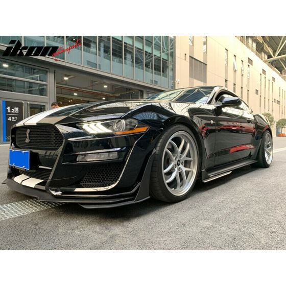 Ikon,Motorsports,18-20,Mustang,GT500,Style,Front,Bumper