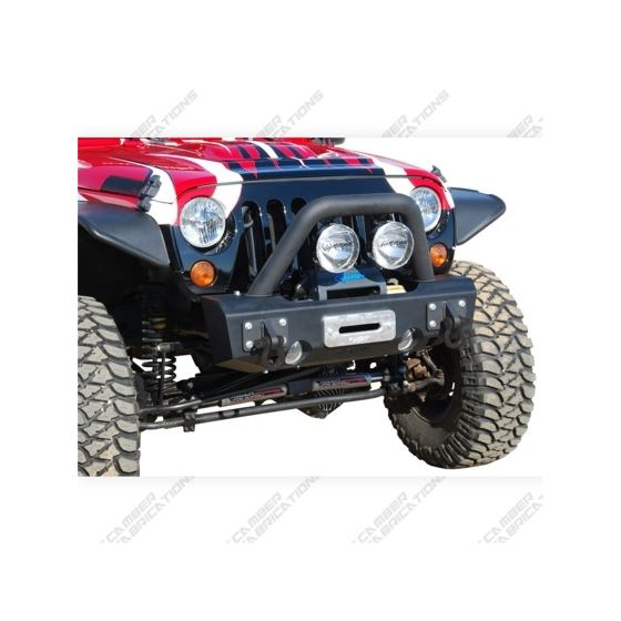 MBRP 07-18 Jeep Wrangler JK Front Stubby Non Winch Bumper Package