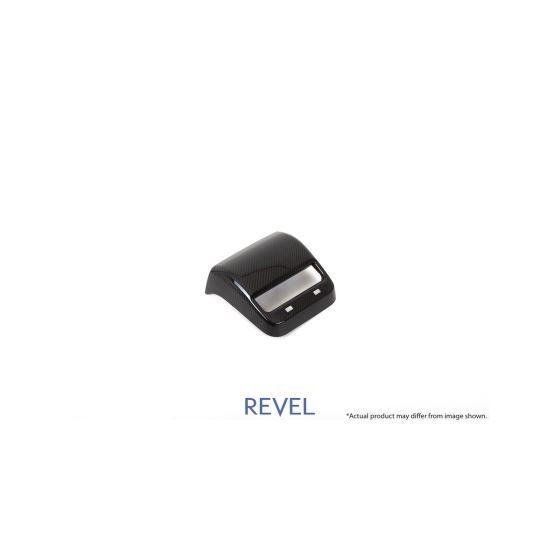 Revel,GT,Dry,Carbon,Rear,A/C,Panel,Cover,Tesla,Model,3,1,Piece