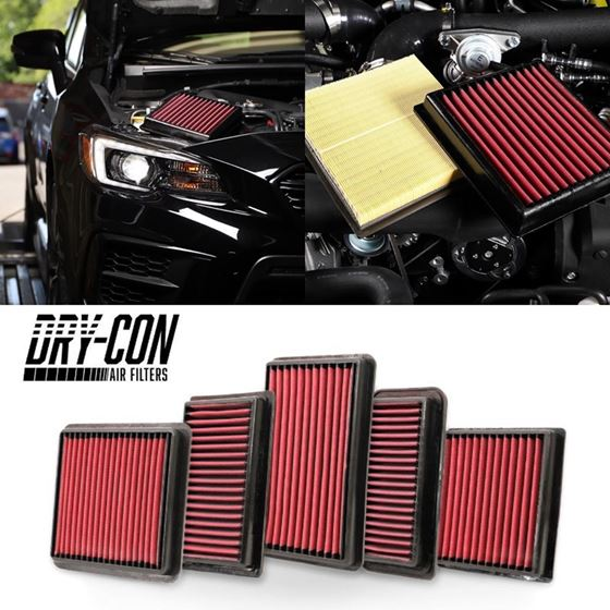 GrimmSpeed,08-20,Subaru,WRX,Dry,Con,Performance,Panel,Air,Filter